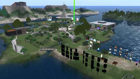 ヘルプ島全景