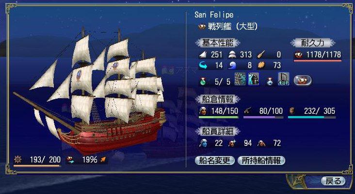戦列艦 San Felipe