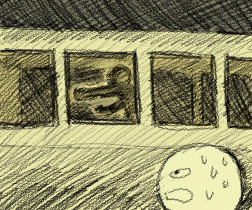 シャドーinバス
