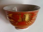 金襴手茶碗