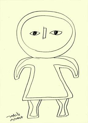 鉛筆で描いたやつ
