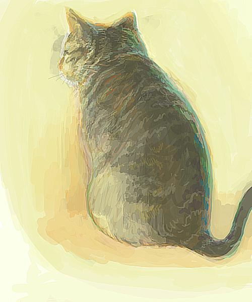 猫背シャープ