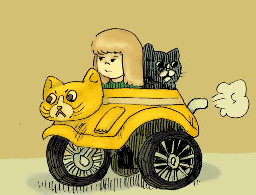 ねこバイク