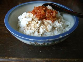 ぶっかけ豆腐丼