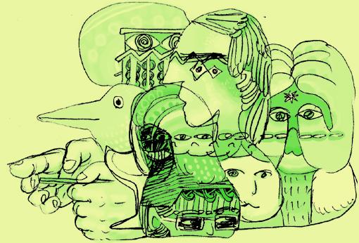 らくがき緑バージョン