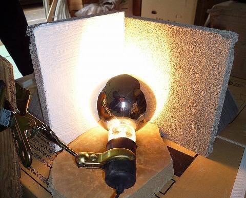 熱源照射実験2