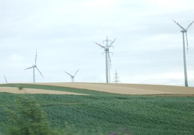 オーストリアの風車だよ