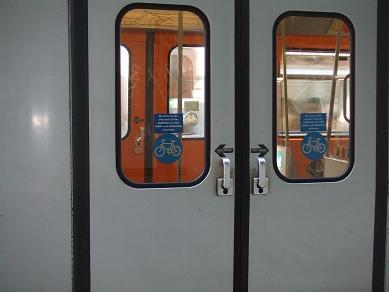 電車と自転車を使えばたくさん移動できるね。