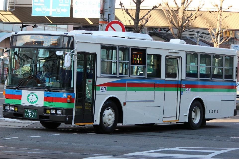 近江鉄道 か871