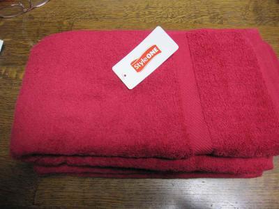 赤バスタオル