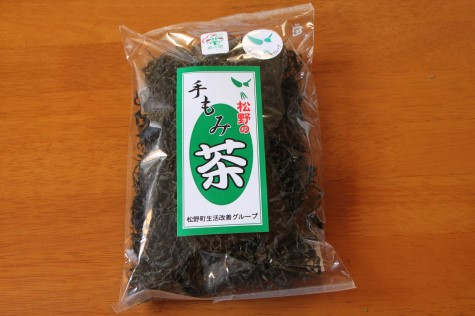 松野の手もみ茶