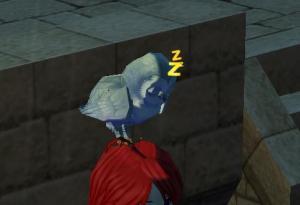 眠った横顔