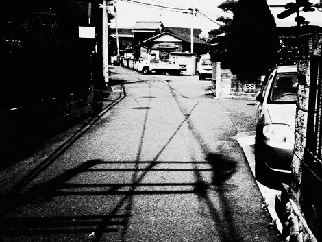 デジタルハリネズミ_影