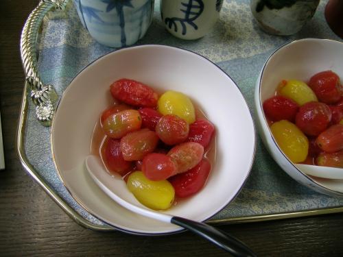 トマトのデザート