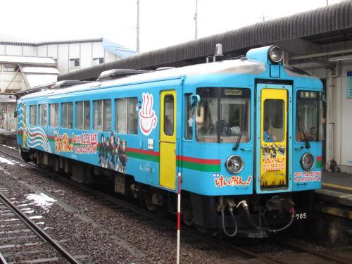 けいおん!列車(宮津駅)