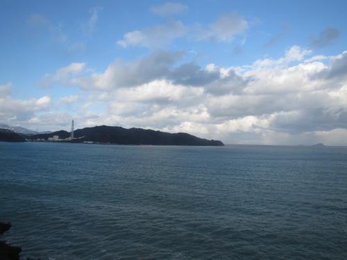 車窓(若狭湾)