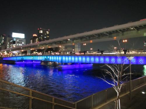 天満橋の夜景