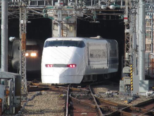 300系回送(車庫入線)