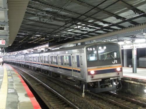 205系(新大阪駅)