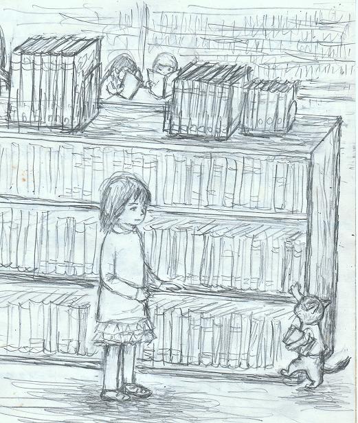 児童図書室ーb