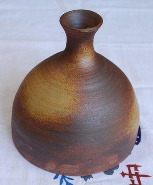 舟徳利型花瓶