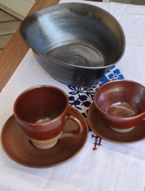 サラダ鉢・コーヒー椀
