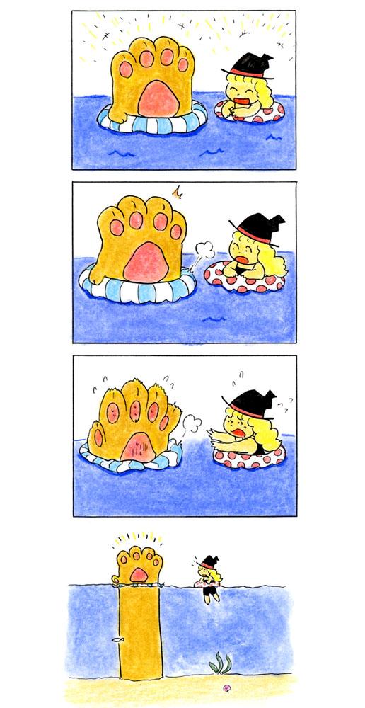 猫の手4コマ 10