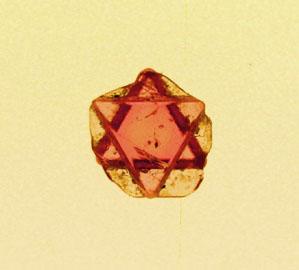 スピネル双晶のコピー