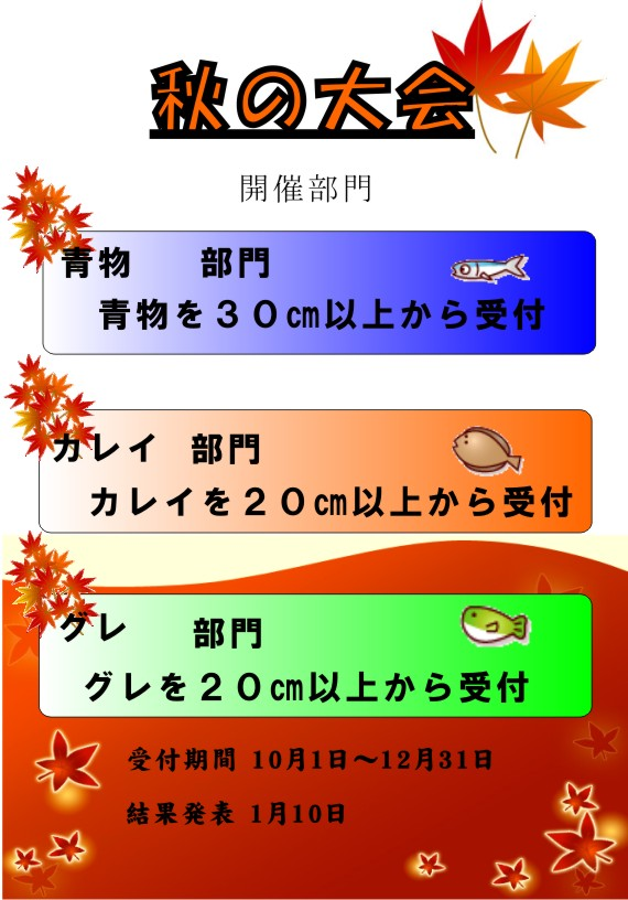 秋の大会 2011年10月 ブログ用