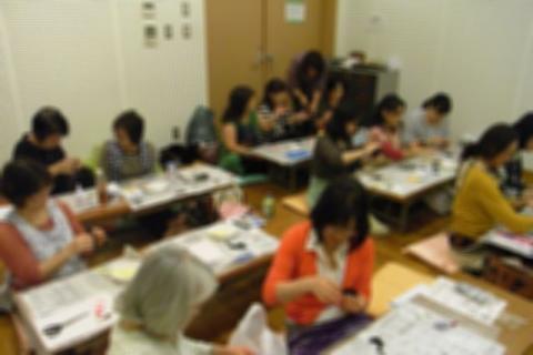 韓国文化院 教室内の様子
