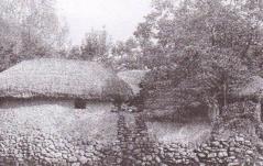 4-村落(金泉)1970年 藤本 巧