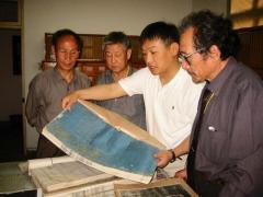 家系記録帳と王梅慶先生
