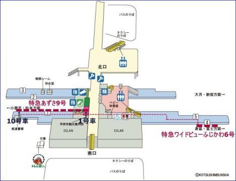 甲府駅 身延線 乗換