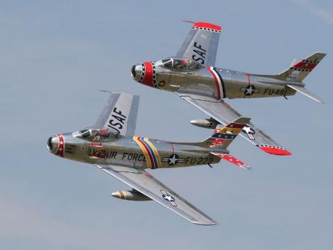 F-86戦闘機