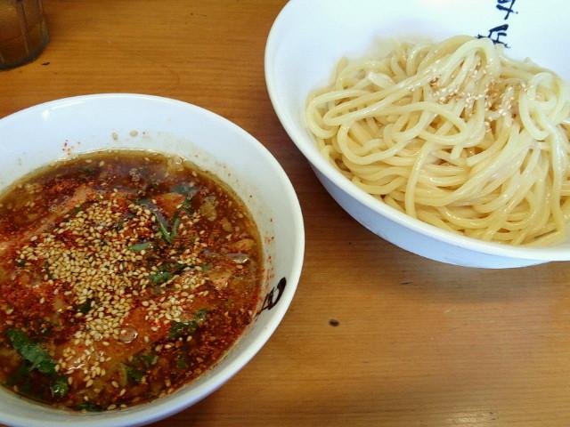 20130712経堂つけ麺 千兵衛3