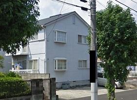 大石(仮名)の入居するアパート