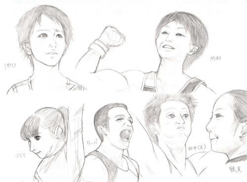 世界体操2011模写
