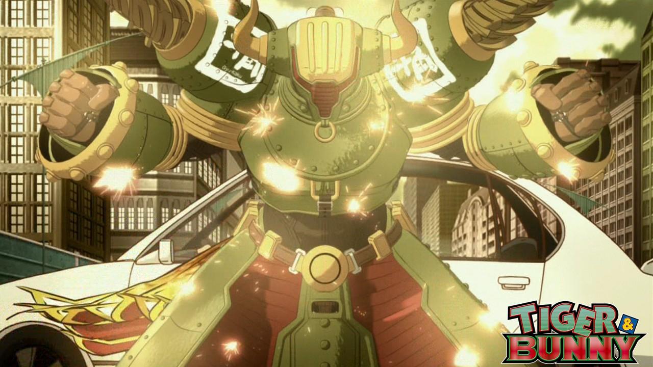大きいロボットTIGER&BUNNY