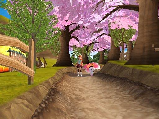 桜並木~、でかいんですけど・・・www
