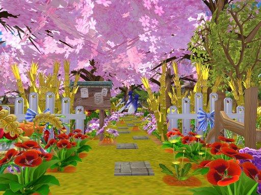 新桜並木入口~♪