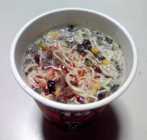 チョッパヤ 辛ダレ高菜とんこつ(できあがり)