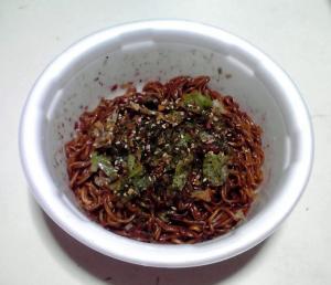 究麺 ソース焼そば(2013年)(できあがり)