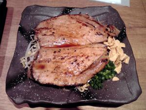 麺と心 7 厚切りチャーシューステーキ