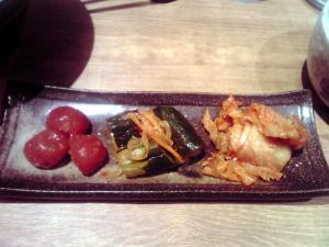 麺と心 7 たっちゃんキムチ盛り