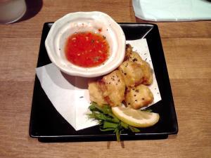 麺と心 7 鶏とカジキの竜田揚げ