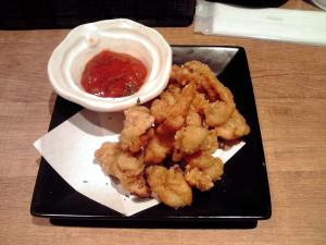 麺と心 7 鶏皮サルサ