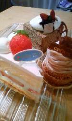 シューのケーキ