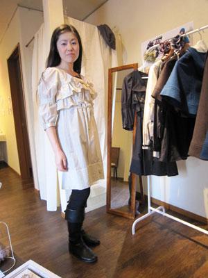 フリル ドレス 子供服 パタンナー1