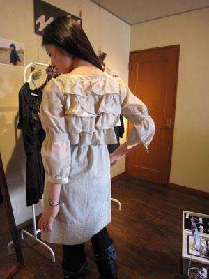フリル ドレス 子供服 パタンナー2