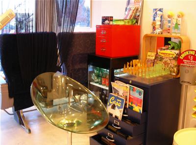 聖蹟桜ヶ丘 美容室 サバス 店内1